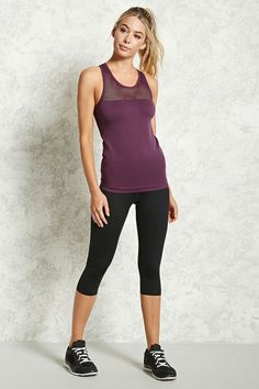 Product Name:Active Mesh Racerback Tank Top, Category:sale_women, Price:6.45