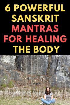 Hindu Mantras, Yoga Mantras, Chakra Meditation, Chakra Healing, Meditation Sounds, Spiritual Wisdom, Spiritual Awakening, Mantra For Good Health, Prayers For Healing