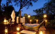 New Places to Honeymoon in 2015 Botswana. Find out the best underrated honeymoon destinations:Botswana. Find out the best underrated honeymoon destinations: Outdoor Bathtub, Outdoor Bathrooms, Hotel Bathrooms, Outdoor Showers, Luxury Bathrooms, Hammock Bathtub, Outdoor Hot Tubs, Garden Bathtub, Luxury Bathtub