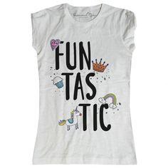 937958dec4b11f T-shirt donna con scritta simpatica e, allegra e frizzante ❤ .