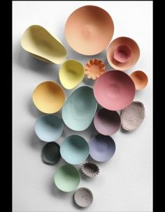 La maison en mode pastel Petits bols 55807 ©Nathalie Carnet