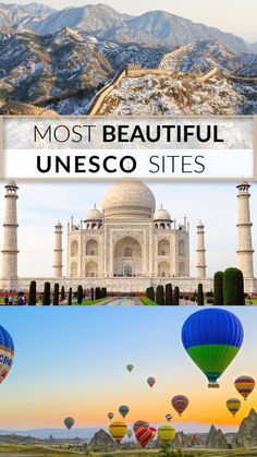 What would we do (look at) without UNESCO World Heritage Sites? Each of these cultural treasures make our world a more interesting and enriching place. In there are over UNESCO World Heritage Sites still standing across 167 countries. I combed Ancient Architecture, Sustainable Architecture, Landscape Architecture, Temple Architecture, Classical Architecture, Ajanta Ellora, History Of India, Site History, Great Buildings And Structures