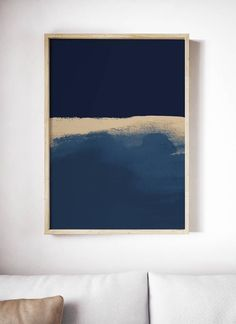 "Outstanding ""modern abstract art mixed media"" info is offered on our site. Have a look and you will not be sorry you did. Dark Blue Walls, Modern Art Movements, Modern Art Prints, Watercolor Artists, Abstract Photography, Blue Art, Abstract Art, Decoration, Etsy"