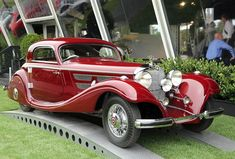Mercedes-Benz 540K coupe 1936 #mercedesclassiccars