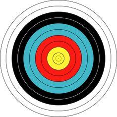 Merdia party Brave arrow target birthday ideas