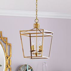 "Admiral Pendant Lantern 14"" square, 18.5 high - look like back ordered until jan. 2015 - but could call and check - Wisteria"