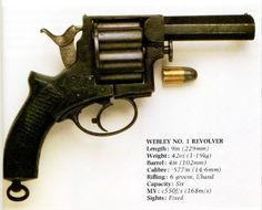 .577 caliber 6-shot Webley. Very cool.