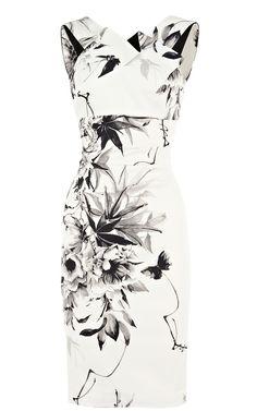 a0794dc098 Oriental floral print dress Karen Millen Lady Like, Crepes, Daily Dress, Karen  Millen