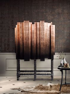 Manuel Cabinet by Boca do Lobo, MARSALA pantone color trend interior design trends for 2015 Contemporary Classic, Contemporary Furniture, Luxury Furniture, Furniture Design, Contemporary Design, Antique Furniture, Modern Classic, Rustic Furniture, Furniture Ideas