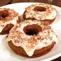 Mind Over Munch   Pumpkin Spice Cake Donuts