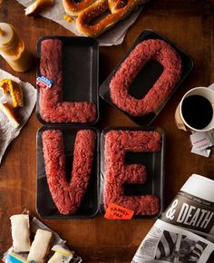 "Nothing says ""Love"" like Ground Beef."