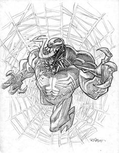 Venom sketch | Ryan Ottley