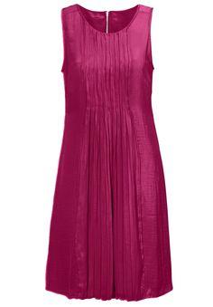 3a67432cdfb Pleated Sleeveless Dress by Ellos reg  - Women s Plus Size Clothing