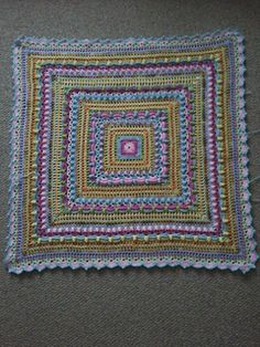 02-05-2017 I still have some yarn left over from my last 2 baby blankets in the Tooty Fruity colours and was wondering what to make next. I kept seeing the Lost in Time Shawl by Johanna of Mijocro...