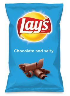 Wouldn't Chocolate and salty be yummy as a chip? Lay's Do Us A Flavor is back, and the search is on for the yummiest flavor idea. Create a flavor, choose a chip and you could win $1 million! https://www.dousaflavor.com See Rules.