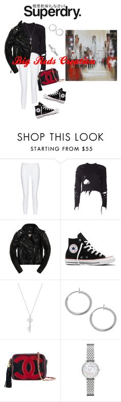 """""""The Cover Up – Jackets by Superdry: Contest Entry"""" by bigreds ❤ liked on Polyvore featuring Superdry, 10 Crosby Derek Lam, adidas Originals, Converse, Chanel, Emporio Armani and Renwil"""