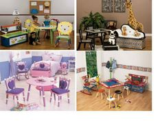 Children's Playroom Furniture - Fun and Whimsical Furnishings That Make Their Play Space Come Alive