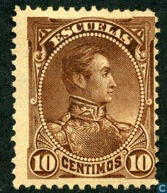 Venezuela - Simon Bolivar 1882