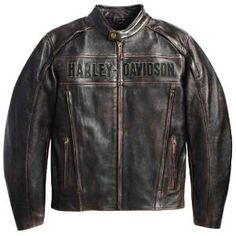 I love my baby's Harley jacket. Doesn't look quit like this one, but a lot like it.   Harley Davidson Roadway Jacket