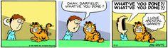 Garfield | Daily Comic Strip on April 11th, 1980