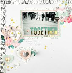 Cut.Paste.Repeat - Raquel Bowman: Some new Sizzix Creations - A layout and some planner fun!