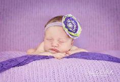 #newborn #newbornphotography #girl #purple Www.alexandradmillerphotography.com