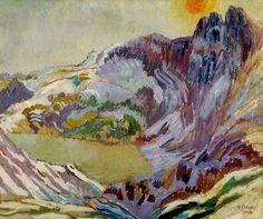 Cader Idris (Wales), Duncan Grant, 1912