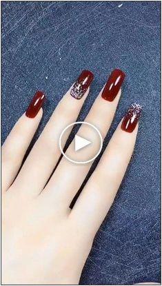 Nail Art Designs, Trendy Nail Art, Coffin Nails, Heart Ring, Styles, Nailart, Beauty, Amigurumi, Fall Nails