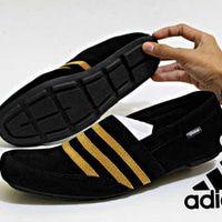 Sepatu Adidas Slip On Moccasin Suede Sepatu Casual Slop Pria