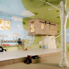 Magical Treehouse Inspired Bedroom