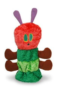 Black Friday Deal The World of Eric Carle: Very Hungry Caterpillar Hand Puppet by Kids Preferred from Kids Preferred Cyber Monday