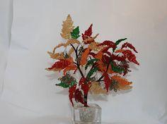 An autumn maple tree