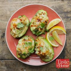 Avocado Crab Boats Recipe