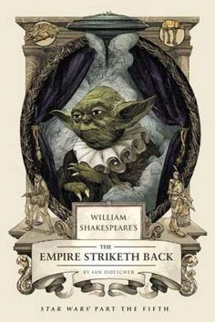 Star Wars The Empire Strikes Back imagined in the style of William Shakespeare. The Empire Striketh Back is quite an entertaining read for the Star Wars fan. Visit post to learn how you can get the Audio book for free.