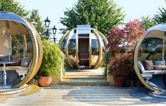 G-Pod for outdoor entertaining, by Farmers Cottage Lamps, UK