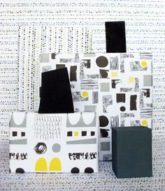 Wrapping paper for www.unlimitedshop.co.uk by Esther Cox