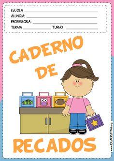 Capas Caderno de Recados Meninos e Corujinha