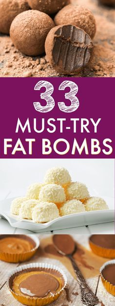 If you want to boost your fat intake on a keto diet or low carb diet, fat bombs are a great way to do it! In this post, I've compiled 33 droolworthy keto fat bombs recipes for you to try. #fatbombs #ketodiet #fatbomb #fatbombrecipes #fatbomblowcarb #fatbo
