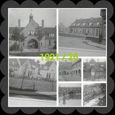 Knutteldorp / Zutphen selaan , Grootburgerstraat,  Teugse plein, Bellendonksplein,  watersnood in 1921
