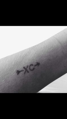 Cross Country running tattoo