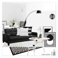 """Modern Minimalist"" by rainie-minnie ❤ liked on Polyvore featuring interior, interiors, interior design, home, home decor, interior decorating, Pier 1 Imports, Monde Mosaic, Eleanor Stuart and Hearts Attic"