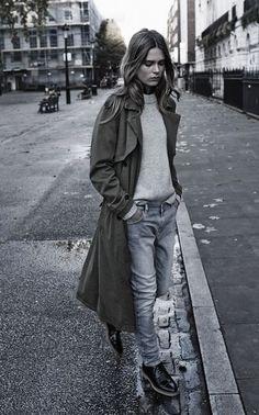 Photo (A Feminine Tomboy) Tomboy Chic, Feminine Tomboy, Feminine Style, Feminine Fashion, Set Fashion, Urban Fashion, Fashion Design, Womens Fashion, Fashion Ideas