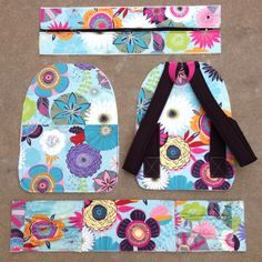 Sew up a great Backpack ! Pattern at www.jackieclarkdesigns