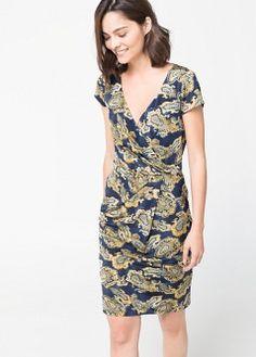 Paisley printed dress - Dresses for Women | MANGO