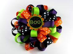 Cute halloween bow