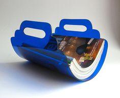 Objectify Magazine Cradle by ObjectifyHomeware on Etsy, $40.00
