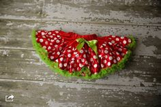 DELUXE Christmas Pettiskirt  Red and Green by LaLaBoutiqueBling