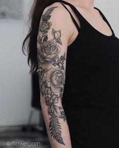 Arm piece in progress for Nika, lines and shades healed #tattoo #tattoos #ink #inked #tattooed #tattooist #design #flower #flowers #plants #botanical #tattooistartmagazine #tatrussia #tattoodo #toptattooartists #thebesttattooartists #tattoorevuemag #tattoscute #tattoo_artwork #tattoo_worldwide_online #equilattera
