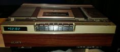 Beta Sony Betamax Director De Video ZENITH Programmable for sale online Vcr Player, Cassette Recorder, The Prestige, Pin Collection, Sony, Audio, Memories, Vintage, Magnetic Tape
