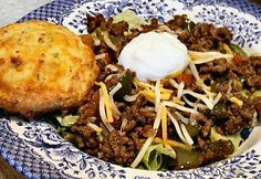 Low- carb chili